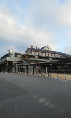 再び長浜駅