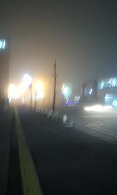 濃霧の1日