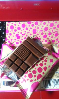 初チョコレート