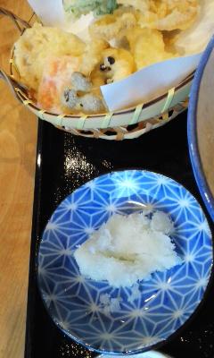 倖屋 蕎麦定食 北の庄菜編