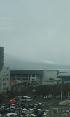 昨日の琵琶湖