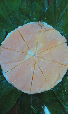 お祝い鱒の寿司