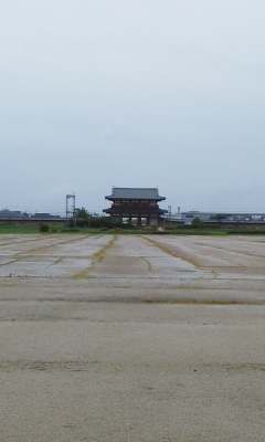 平城京跡へ