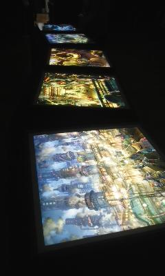 『えんとつ町のぺプル』光る絵本展