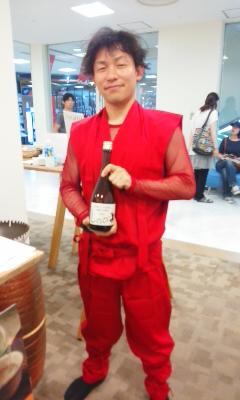 大津PARCOにて甲賀市の日本酒蔵せいぞろい