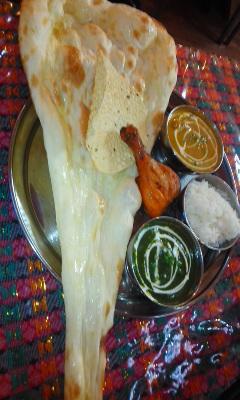 たまにはインドカレーディナー