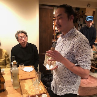 日曜日の夜は、京都カフェパラン『滋賀酒』トークイベント