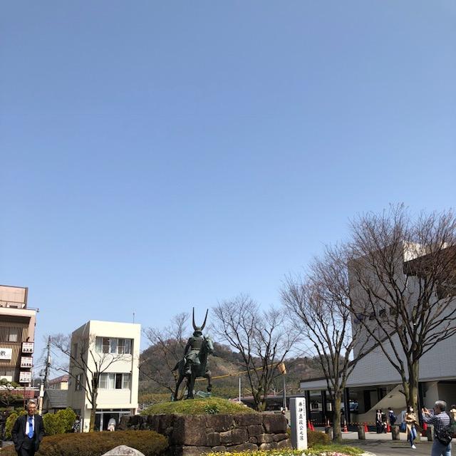 春の彦根駅