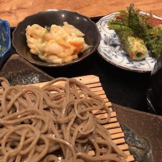幸屋 蕎麦定食