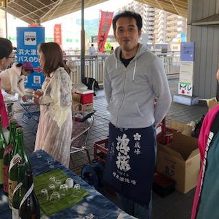 「薄桜」「近江藤兵衛」朝市ありがとうございました!