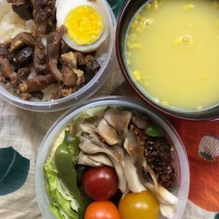 栗東浪漫卵の鶏旨煮弁当